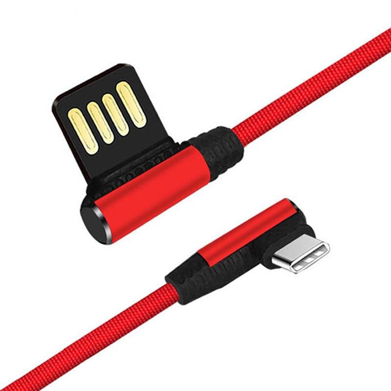 Willensstark Heißer Verkauf Tropfen Verschiffen Gebogene Interface Usb Typ C Kabel Daten Und Lade Usb Kabel Adapter Datenkabel