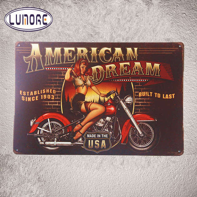 American Dream USA Motorcycle\