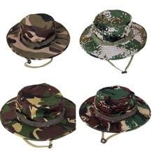 50475a0dddb Military Caps Men for Men Bucket Hats Camouflage Gorras Hunter Fisher Man  Sun Visor Caps Real