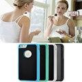 Hot mais novo anti gravidade case mobile phone case para iphone 7 5S SE 6 S Mais coberto com velcro magia Shell telefone nano adsorção