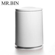 MR. BIN Тип штампованной детали ABS пластмассовый мусорный бак для бытовой уборки мусорное ведро быстро открытое мусорное ведро для дома