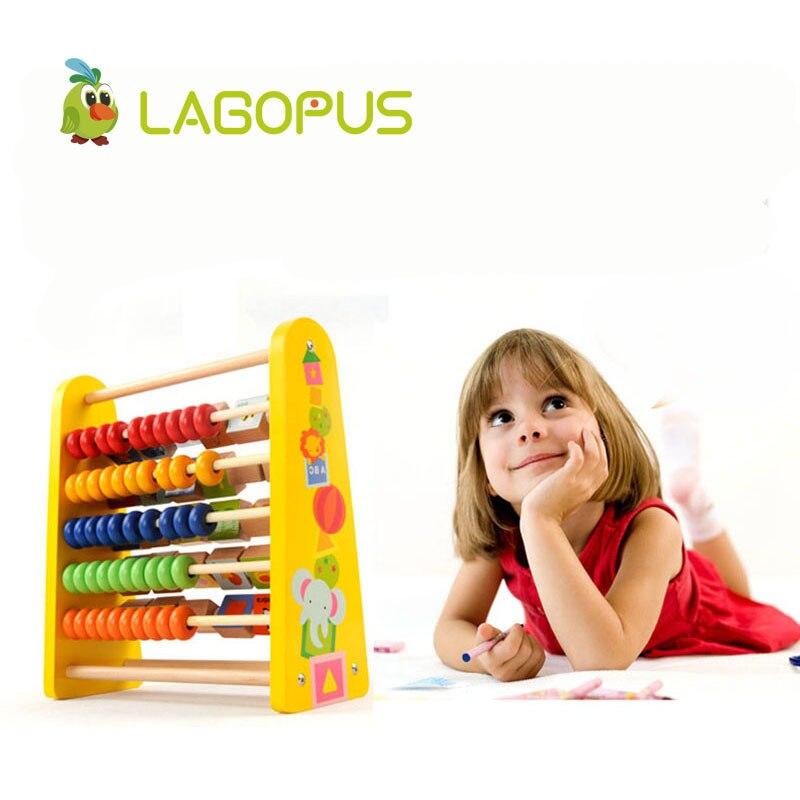 Arithmétique Calcul Bois Puzzle Calcul Boulier Enfants Au Début de L'éducation En Bois Jouet