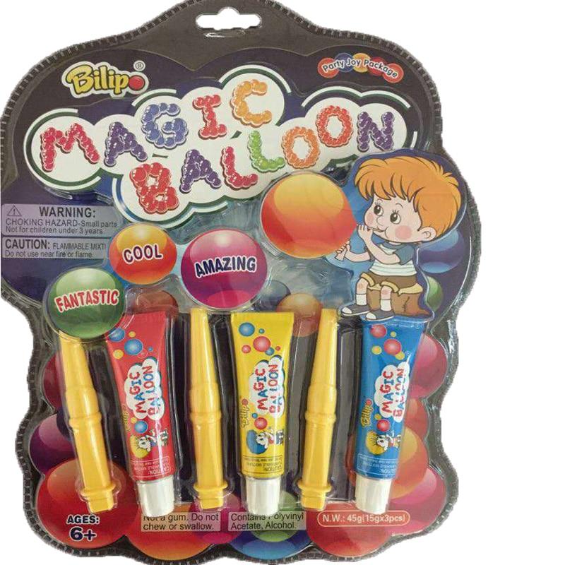 KisMa 3pcs/set Magic Blow-Up Balloon Bubble Kids Toy Magic Balloon Funny Outdoor Game Toys For Children Zabawki Dla Dzieci