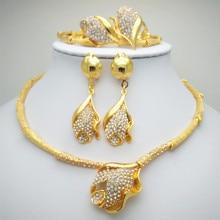 2015 wedding jewelry, gold floating charm, wholesale fashion women, African Nigeria jewelry sets