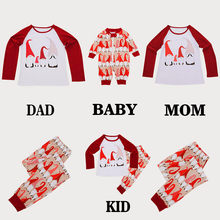 Kids Baby Boy Girl T shirt Tops Pants Family Pajamas Sleepwear Christmas Outfits NEW ARRIVAL DROPSHOPING(China)