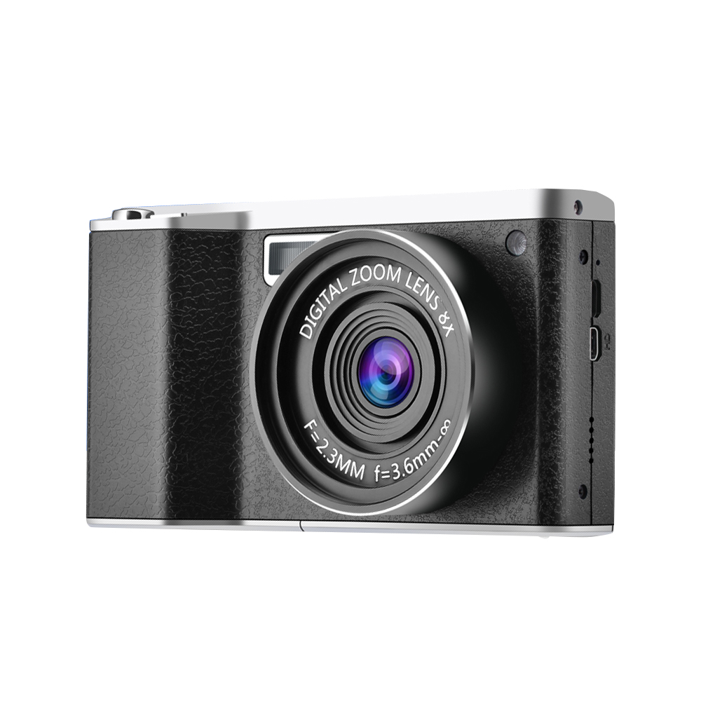 Portable Digital Camera 8 digital zoom times 24 Million Pixel Wide Angle HD IPS Touch Screen DSLR Camera CMOS Sensor image