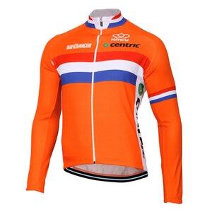 Image 3 - Несколько выбранных зимних теплых флисовых или тонких новых голландских команд, длинные профессиональные велосипедные Джерси/комплекты/брюки JIASHUO