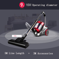 1pc Household Electric Vacuum Cleaner Ultra Quiet Powerful Dust Cleaner Handheld Instrument 220V 1200W