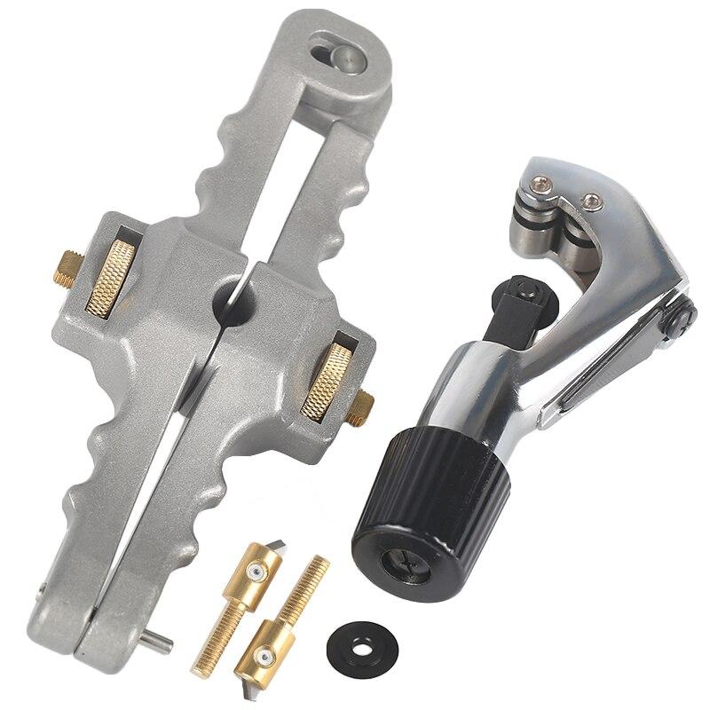 Längs Öffnung Messer Längs Mantel Kabel Rollenschneider Faser Optische Kabel Stripper SI-01 Kabel cutter
