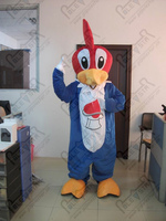 sweet woodpecker mascot costumes parrot costumes red head bird costumes