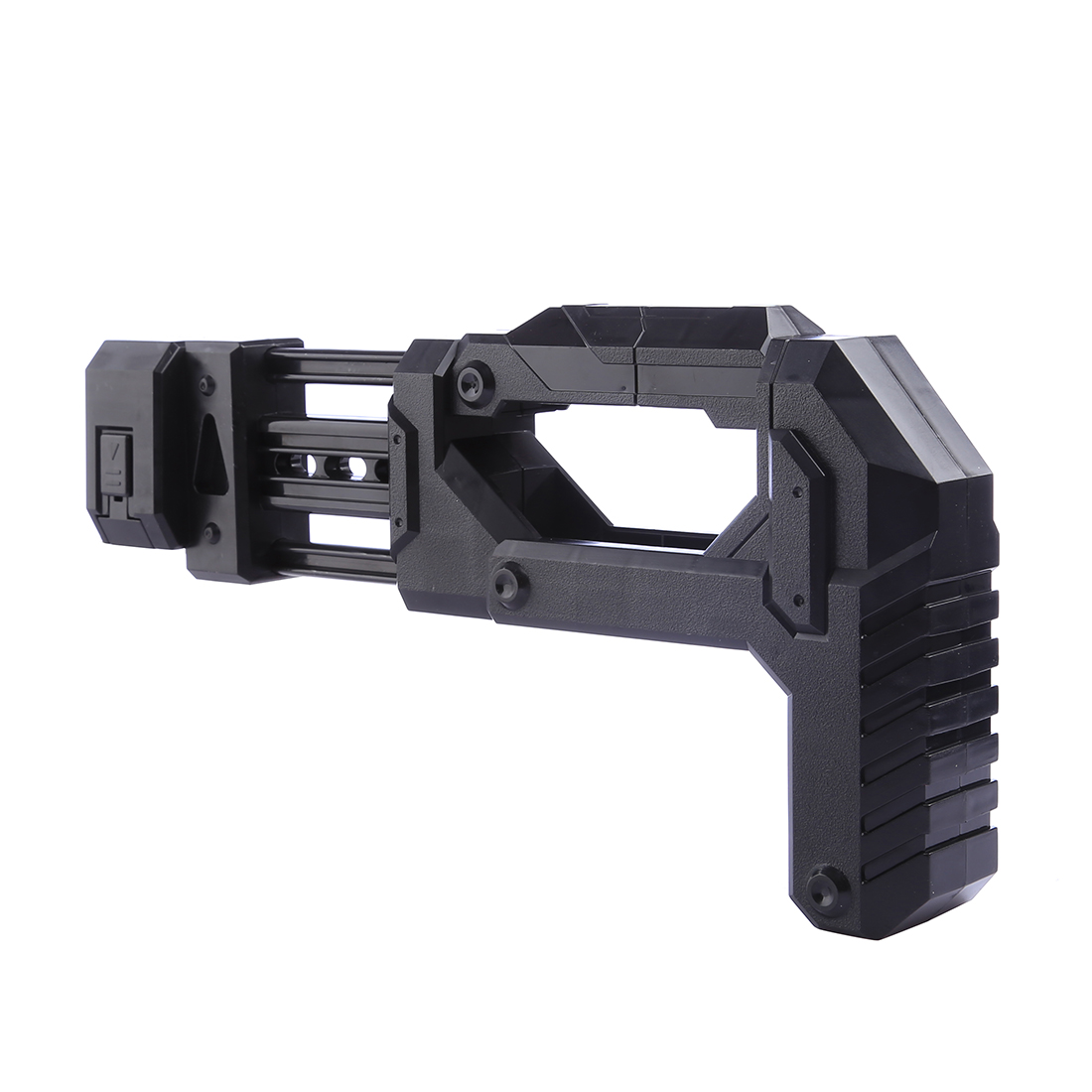 Modified Part Stock For Nerf Elite Series For Toy Gun Type Soft Bullet Blaster Parts Stock For Nerf Modification Black