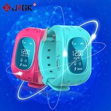 Jrgk q50 gps smart kid safe smart watch sos вызова расположение Finder Locator Tracker для Ребенка Anti Потерянный Монитор Маленький Сын Наручные Часы