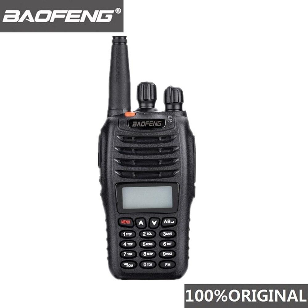 100% Original Baofeng UV B5 Two Way Radio Station VHF UHF 5W 99CH Ham Radio FM Transmitter Handheld Walkie Talkie B5 Transceiver-in Walkie Talkie from Cellphones & Telecommunications