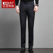 Hodo  Red Men s Spring New Slim Trousers Dp Dress Casual Pants Pleat Rhino  Business Men Dress Pants Mens Pants Formal HWA7K5577 ea7e6adee1aa