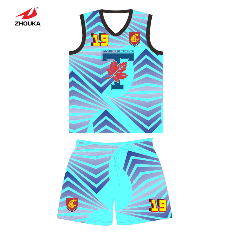 Newest Double sided wear Reversible basketball jersey in high quality