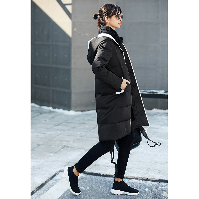 Manteaux Légères Imprimer La Blanc Noir De Canard camel D'hiver bourgogne 2018 Duvet Mode Hoodies Manteau 90 blanc Femmes Veste Lettre Amii tOF7Tqawt