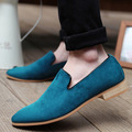 Zapatos Hombre New Chaussure Homme Casual Men Shoes 2016 Fashion Genuine Moccasins Slip On Male Flats Driving Zapatillas Hombre
