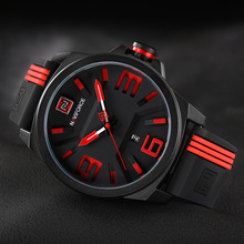 Luxury Brand NAVIFORCE Men Military Sports Watches Men's Quartz Date Clock Man Casual Leather Wrist Watch