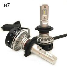 50W LED Headlight Bulb 6500K 5000LM Car LED Headlight Bulbs H7 COB LED h7 Headlights Auto Headlamp Fog Light DC LED 12v 24v