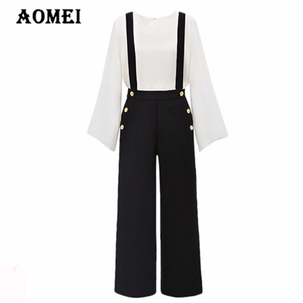 b14ac9ba862 Women Romper Black Solid Junior Girls Office Ladies Jumpsuit Causal Fashion Clothing  Rompers Bodysuits Overall Plus