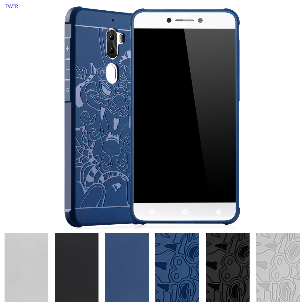 3D Relief TPU Soft Case for LeEco Coolpad Cool1 Cool 1 Dual C106-9 Case Phone Back Cover for Le TV LeTV Cool1 C106 C 106 Cases