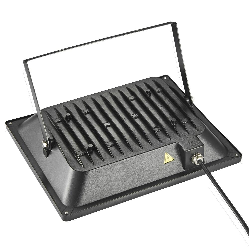 5 Stücke 100 Watt LED Flutlicht 220-240 V 11000LM Reflektor - Außenbeleuchtung - Foto 3