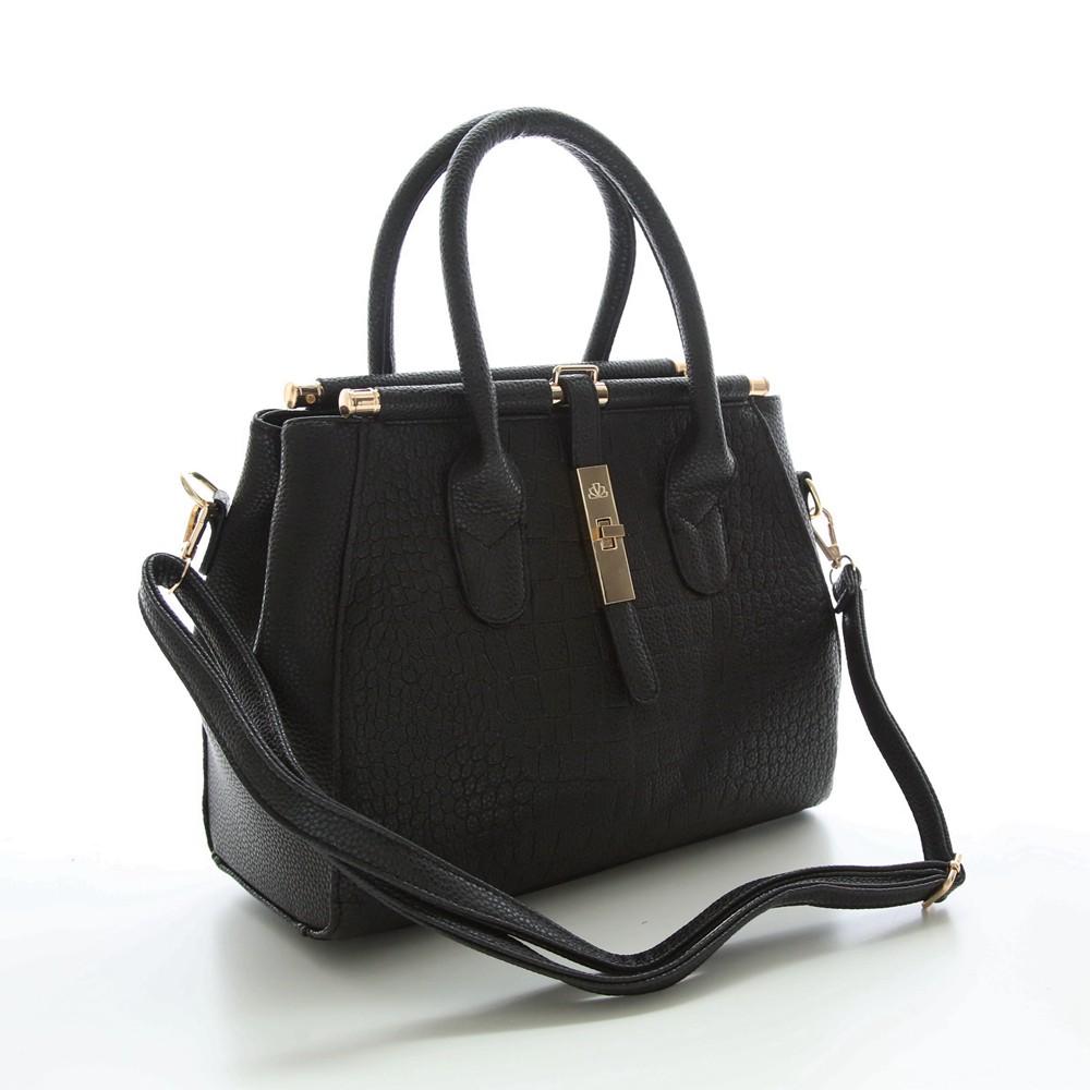 Alligator Women Bag Metal Lock Top-handle Bags Messenger Bags High Quality PU Leather Handbags Shoulder Bags Tote Herald Fashion (3)