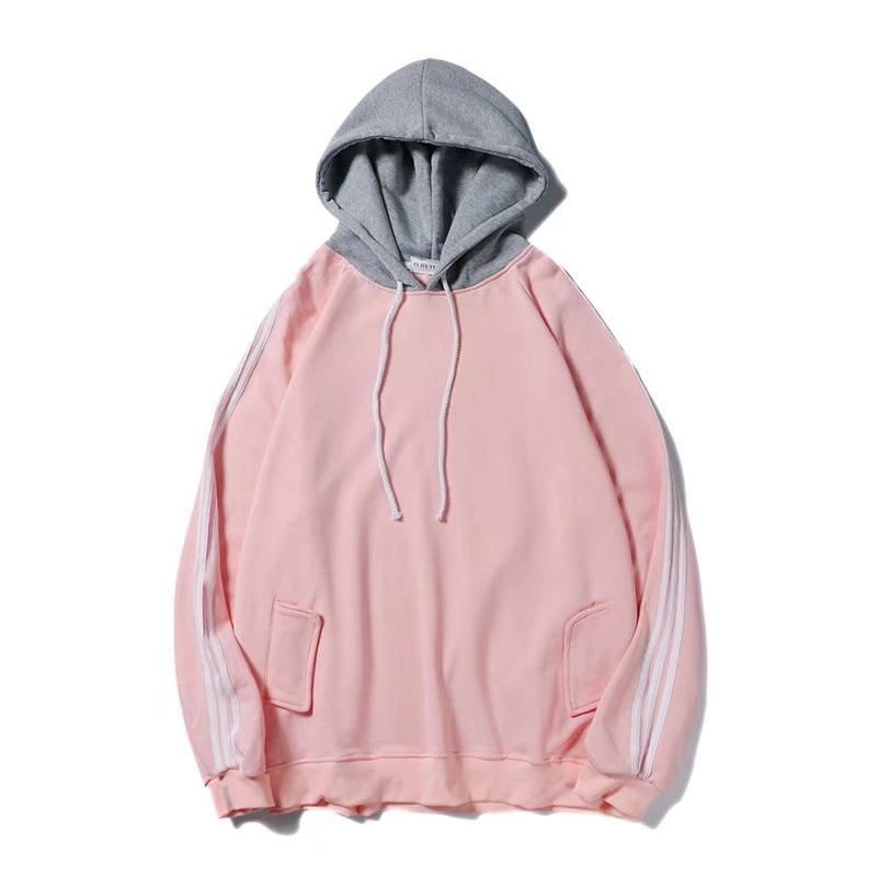 2019 New Men 39 s Hooded Spring Summer Fashion Striped Print Spacious Waterproof Casual Hoodies Set Head Coat Outwear SIZE M XXL in Hoodies amp Sweatshirts from Men 39 s Clothing