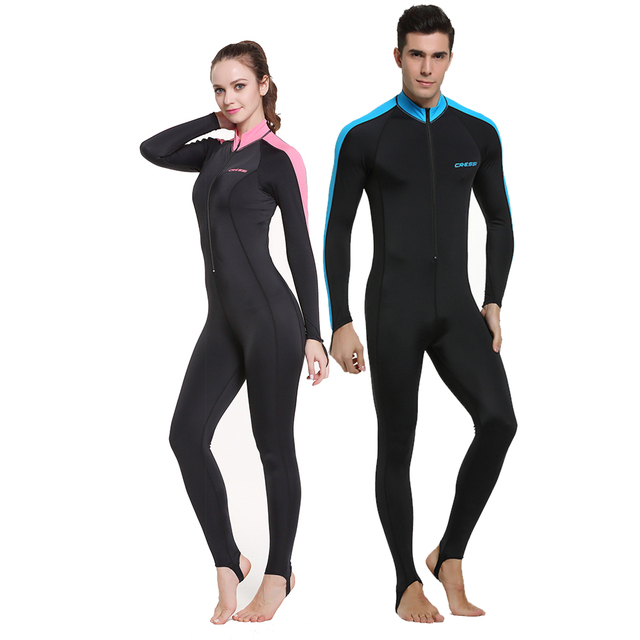 d19d80f06b Cressi Lycra All-In-One Rash Skin Suit Rash Guard Suit Wetsuits Snorkeling  Suit Anti-Jellyfish Anti Scratch for Adults Men W