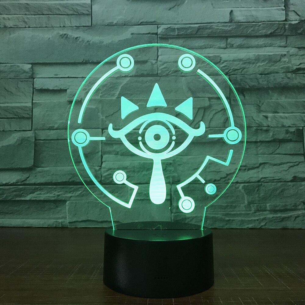 The Legend of Zelda 3D Table Lamp Link 1