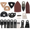 Free Shipping 24 Pcs Kit Oscillating Tool Saw Blades For Renovator Tools As Fein Multimaster TCH
