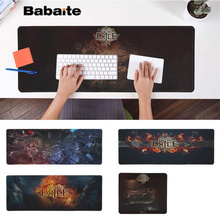 Babaite Custom Skin Path Exile Gaming Player desk laptop Rubber Mouse Mat Free Shipping Large Mouse Pad Keyboards Mat