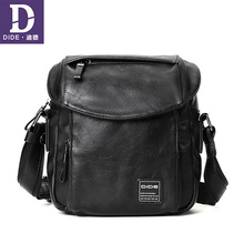 DIDE Business Travel Bag Men Anti-theft Cover Crossbody bags for men Waterproof Man  Messenger Shoulder For Teenager Black