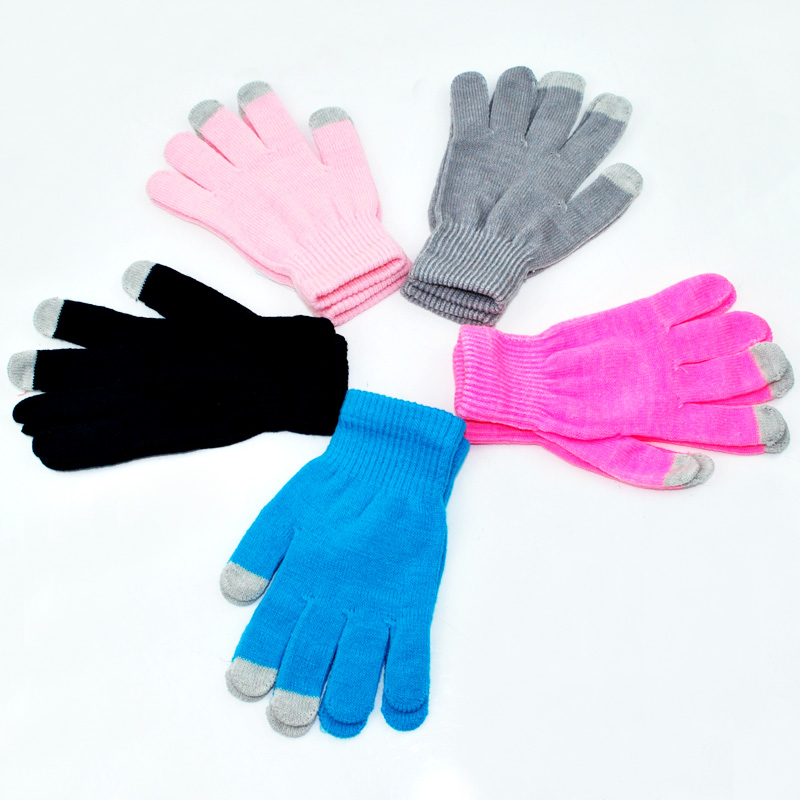 Soft Winter Men Women Touch Gloves Texting Capacitive Smart Phone Knit