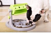 Food Treated Dog Toys Food Feeder Educational Dog Puzzle Toys Interactive IQ Training Game Toy Anti Choke Slower Feeder Bowl