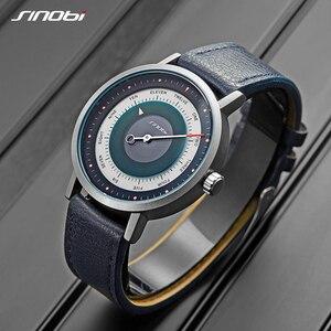 Image 5 - SINOBI Neue Kreative Uhr Herren Sport Uhren Mann der Quarz Armbanduhr Männer Military Uhr Casual Mysterious Sky Stil Relogio