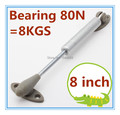 Bearing 80N Hydraulic Lift Up Pneumatic door support  Gas Spring Kitchen Cabinet Hardware