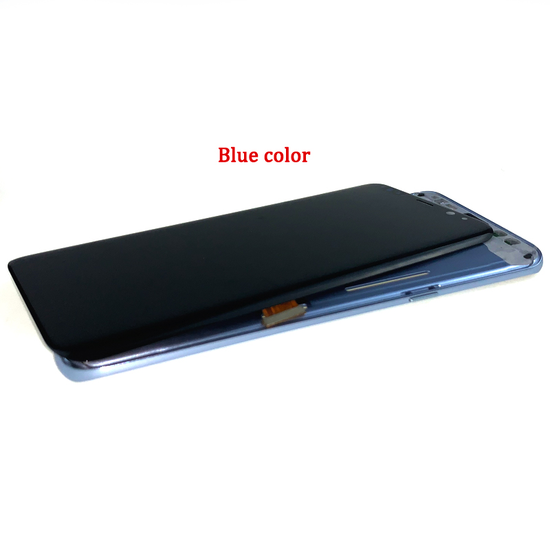 For-Samsung-Galaxy-S8-Plus-G955-LCD-SCREEN-WITH-FRAME-蓝色