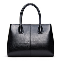 Winter Classics Black Bags Handbags Women S Famous Brands 100 Real Leather Handbag Michaeled Bolsa Feminina