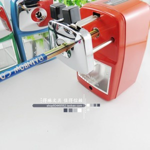 Image 2 - Free shipping 100% Japan Original A 5 pencil sharpener metal material shell hand pencil sharpener pencil sharpener color option