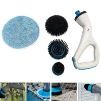 Newly Hurricane Muscle Scrubber Electrical Cleaning Brush for Bathroom Bathtub Shower Tile TE889