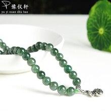 Vintage jewelry Colgantes mujer Moda pendentif Fine jewelry Jade fine jewelry Natural stone necklace Jade Boutique Bracelet A319
