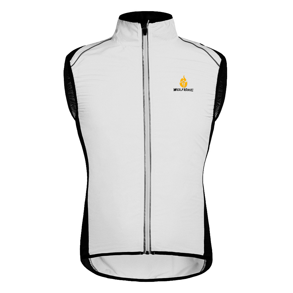 bcde86055 WOLFBIKE Cycling Jersey Men Riding Breathable Vest Jacket Hiking Bicycle  Cycle Clothing Bike Sleeveless Vest Wind Coat Jacket-in Cycling Jackets  from Sports ...