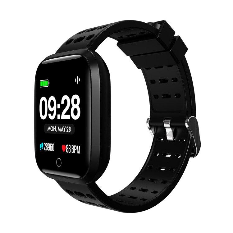 Montre intelligente au détail Q8 montre intelligente es 1.3 pouces moniteur de fréquence cardiaque de pression artérielle Bracelet intelligent sommeil Fitness Tracker smartwatch