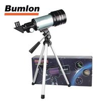 Astronomical Refractor Telescope F30070 15 150x 70mm Zoom High Powered Monocular Digital Eyepiece With Aluminum Tripods