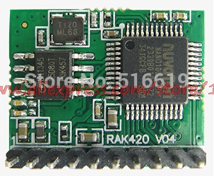 Free Shipping    Internet Of Things RAK421 Ultra Low Power WIFI Module Single-chip High-speed SPI WIFI Module