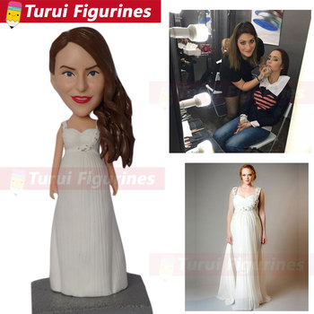 Polymer clay figure groupon bobbleheads that look like you 3d figurine maker sculpture cake topper suppliers china artist team