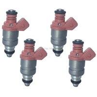 4 PCS / SET For Daewoo Matiz KLYA 0.8 1.0 Fuel Injector Nozzle OE # A2C59506221 96 351 840 / 96 620 255 / 96 518 620
