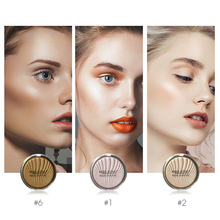 MISS ROSE Shimmer Brighten Highlighter Powder Bronzer Prominent Side Profile Highlight Palette Face illuminator Contour Makeup недорого