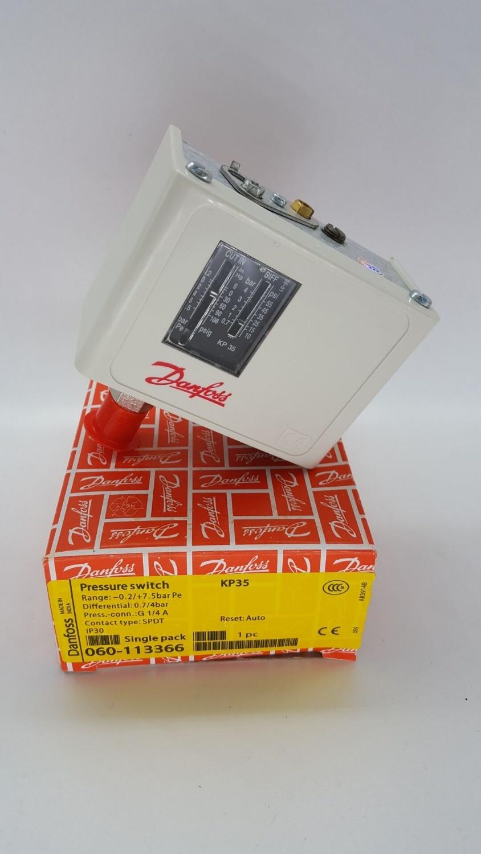 ФОТО Air compressor pressure switch Danfoss controller KP35 060-1133